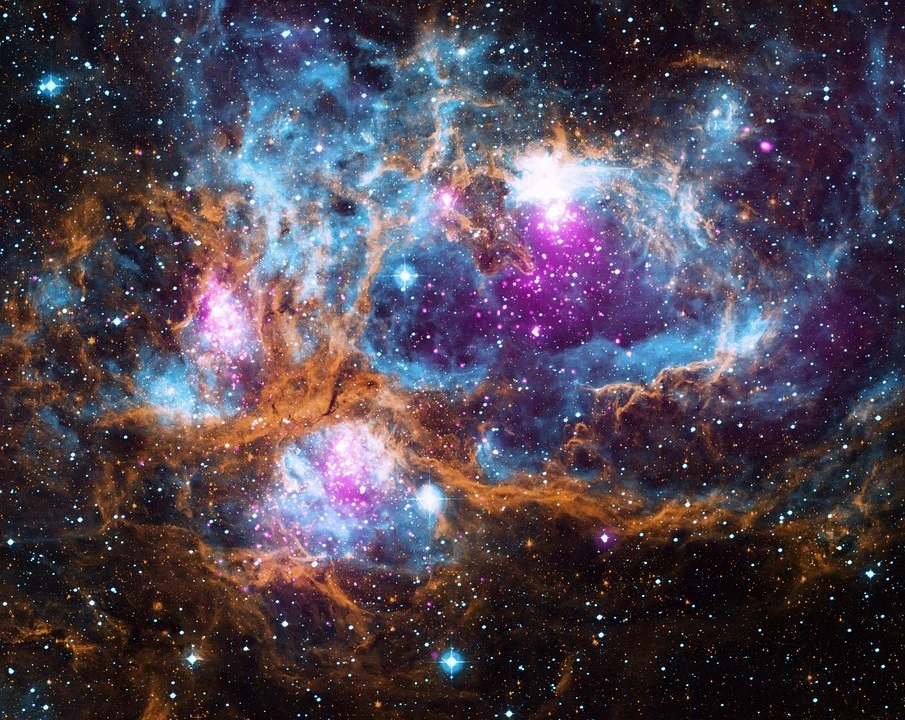 The Lobster Nebula NGC 6357. Almost 5500 light-years from earth in space.