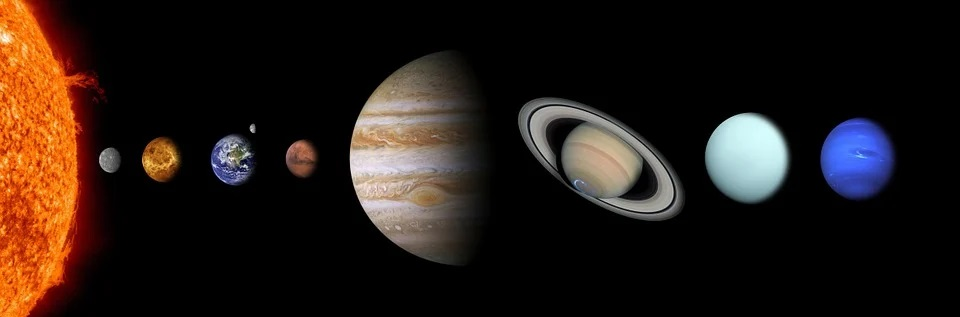 Witness the differences in the planets of the solar system. These represent similar contrasts that take place in your mind and space.